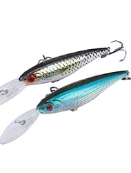 Царство трудно приманки рыбалка гольян плавающей приманки 1,5 60mm 5.6g