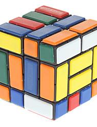 Новая структура 444 Burr перевязанной Magic Cube Puzzle игрушки (черный Base)