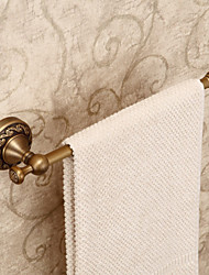 "Barre porte-serviette Laiton Antique Fixation Murale 320 x 80 mm (12.6 x 3.15 "") Laiton Antique"