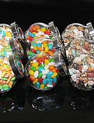 7.5 * 5.5 * 8cm Canning e Preservar armazenamento vasilha de vidro selada