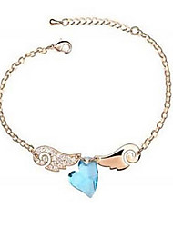 Delicate Alloy With Rhinestone Crystal Glass Women's Bracelets(More Colors)