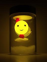 Cute Chic LED Solar Powered Garden Light -Solar Table Light- Solar Small Night Light In Jar Design