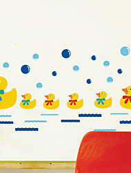 Animal Rubber Duck Wall Stickers