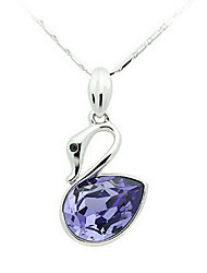 Charming Alloy With Crystal Glass Women's Necklace(More Colors)