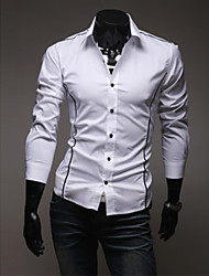 Camisa de manga larga Shangdu Personal (Blanco)
