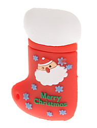 Plastic Christmas Stocking Modelo USB de 4GB