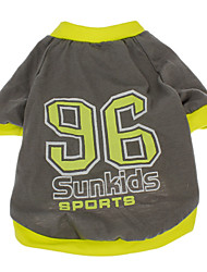 Cool Kids Sun Sport 96 Modello T-shirt per animali Cani (formati assortiti)