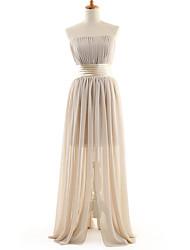 DRESSTELLS Women's Bridesmaid Sweeping  Long  Full Dress