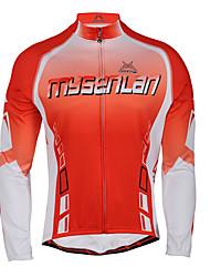 Queda MYSENLAN2013 dos homens e Inverno Estilo JOURNEY Cycling Jacket com Double Composite Fleece