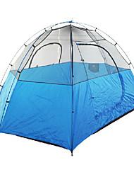 Himalaya Outdoor azul barraca de camping para 3-4 pessoas