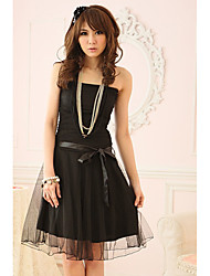 Women's Dresses , Mesh Casual/Party Holiday Lady