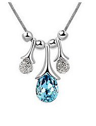 Charming Alloy With Rhinestone&Crystal Glass Women's Necklace(More Colors)