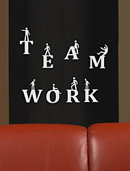 People Teamwork Wall Stickers