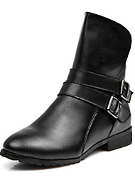 Leather Heel Kampf Ankle Boots