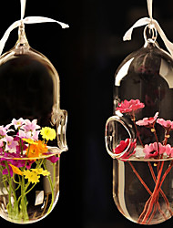 Table Centerpieces Creative European Style Hanging Glass Vase  Table Deocrations
