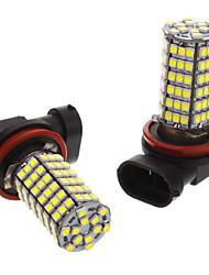 H8 6W 118x3528SMD 530-560lm 6000-6500K fresco White Light Bulb para carro (12V) LED