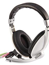 TONSION V168 stéréo ergonomique Over-Ear Music casque avec micro et télécommande pour PC, téléphone portable