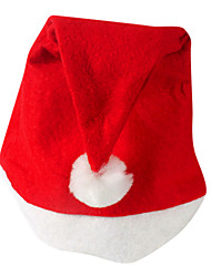 Warming Velvet Red Christmas Hat