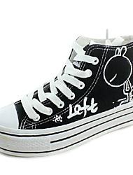 Per bambina-Sneakers-Casual-Comoda-Piatto-Di pelle
