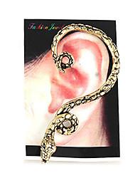 Unissex ouvido Punhos de serpente (cor aleatória)