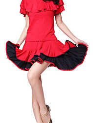 Dancewear viscosa baile latino falda para las damas (más colores)