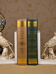 """6 """"Rétro oiseau type Résines 1 paire Serre-livres"""