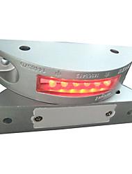 Zonne Deklicht ondergrondse licht, 6PCS super heldere LED, aluminium legering