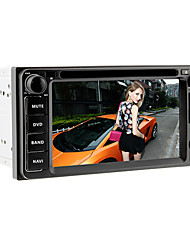 6.2Inch 2 Din Universal Car DVD Player for Toyota Before 2006 with 3G,WIFI,GPS,IPOD,RDS,BT,ISDB-T