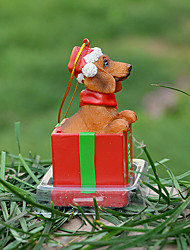 Cute Dachshund Decorative Ornament Christmas Gift for Pet Lovers