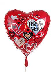 Heart Metallic Balloon - Youe Are In My Heart