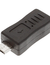 Micro USB 3.0 Man-vrouw Adapter Black