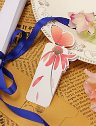 Paper Butterfly Bookmark - Set of 20 Pieces