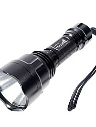 5-Mode del Cree XR-E Q5 torcia LED (480LM, 1x18650, Nero)