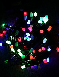 30 Batteriebetriebene LED-Multi-Color String Lichterketten zu Weihnachten Party (Cis-57119)