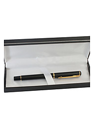 Personalized Business Black Metal Black Ink Gel Pen
