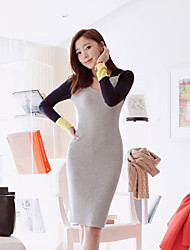 Women's Dresses , Cashmere Casual/Work ChuangYing