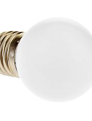 Lampadine globo 12 E26/E27 1 W 80 LM 6000 K Luce fredda AC 220-240 V