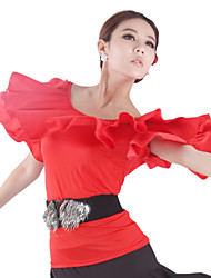Dancewear Viscose Dance Top For Ladies(More Colors)