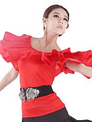 Ropa de viscosa baile Top para damas (más colores)