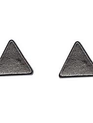 Earring Stud Earrings Jewelry Women Daily Alloy Black / White