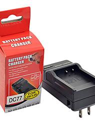 DSTE DC77 Carregador para Sanyo C40 J4 E6 E7 CA6 CA8 CA65 DB-L40A DB-L20A Bateria