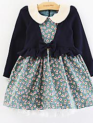 Girl's Dress Cotton All Seasons