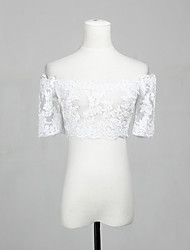 Gorgeous Half-Sleeve Lace Evening/Casual Wedding Wrap/Evening Jacket (More Colors) Bolero Shrug