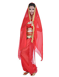 Dancewear Chiffon Belly Dance Veil For Ladies(More Colors)