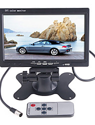 7 pollici a colori TFT-LCD monitor di Rearview dell'automobile per DVD Camera VCR