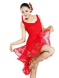 Танцевальная одежда вискоза и кружева латинский танец платье для дам (другие цвета)