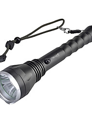 SingFire SF-129 Rechargeable 5-Mode du Cree XM-L T6 LED Flashlight (800LM, 2x18650, Noir)