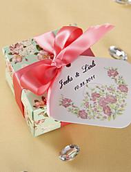 Étiquettes de faveur personnalisées - floraison printanière (ensemble de 36)