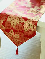 Chemin de table, polyester rectangulaire, la série de Noël