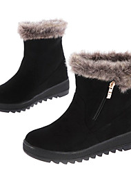 Women's Winter Zipper Mid-Calf Ankle Boots